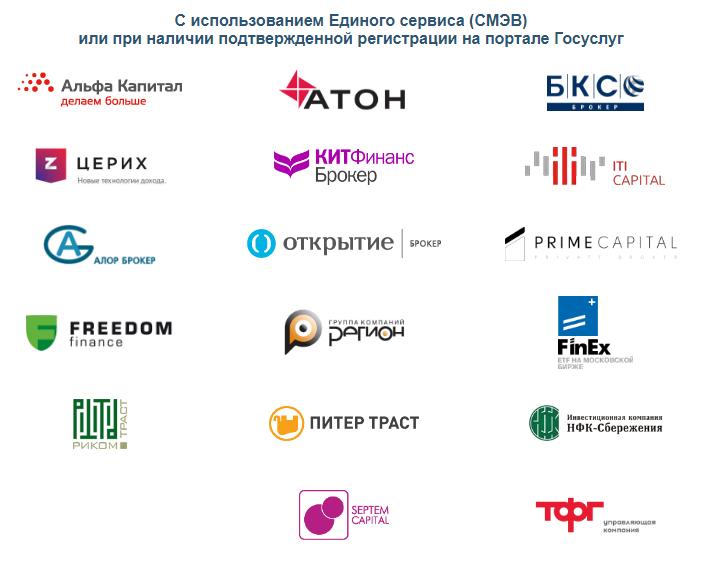 Онлайн открытие торгового счёта на Московской бирже