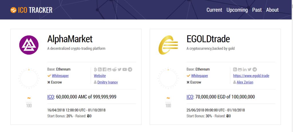 Сайт icotracker.net