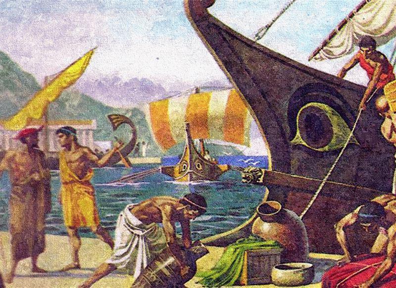 Афинские купцы
