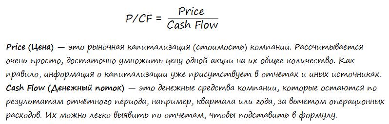 Мультипликатор P/CF