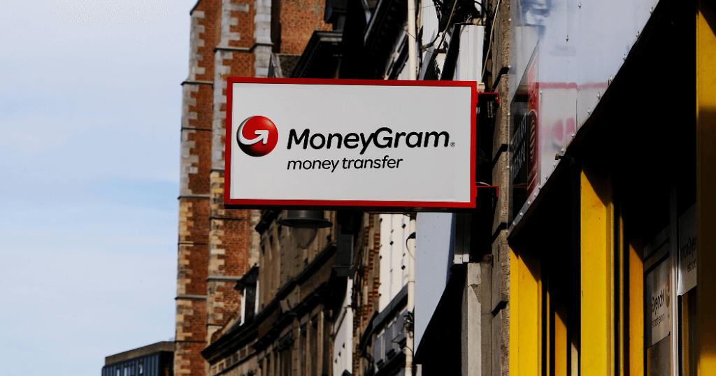 Вывеска MoneyGram International