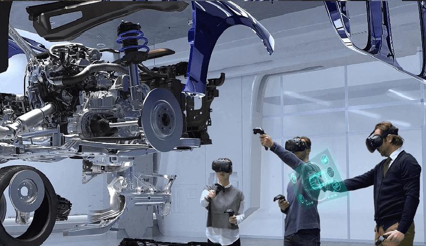 Проектирование автомобиля в виртуальной реальности